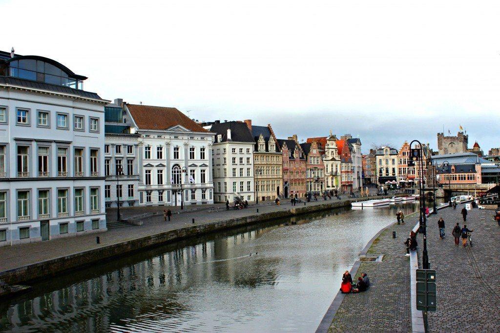 Glass Alley Ghent Belgium